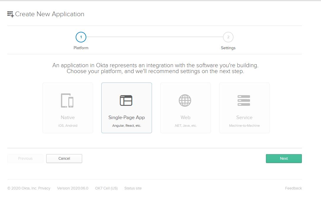 Okta SPA App