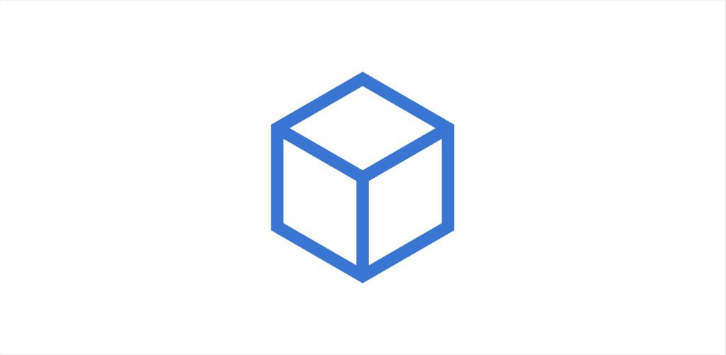 Imagem do cubo, logo da empresa