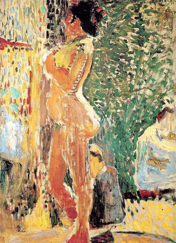 'Study of a Nude' by Matisse in 1899, Bridgestone Museum of Art, Tokyo