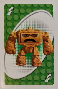 Toy Story 3 Green Uno Reverse Card