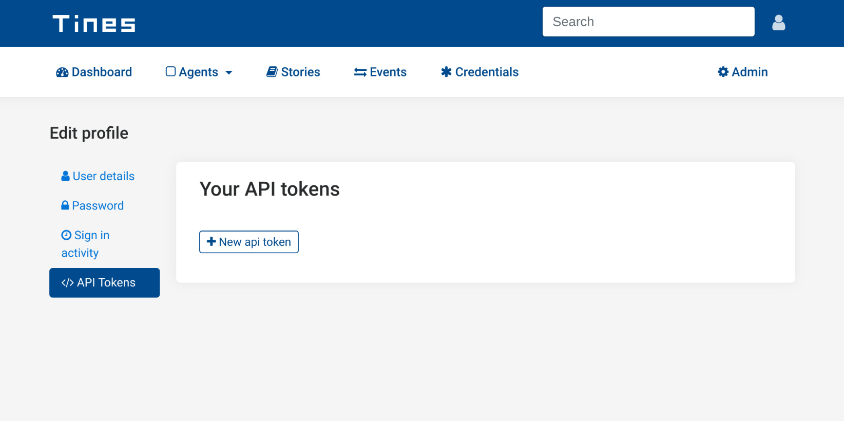 API Tokens