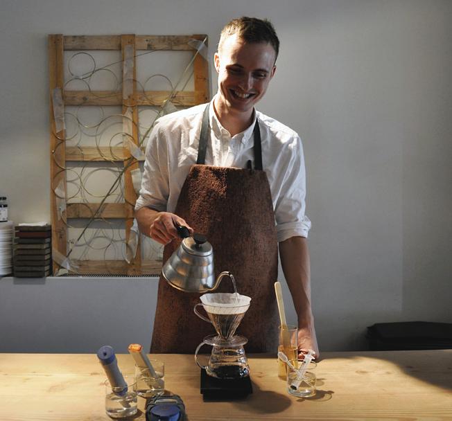 Prolog kaffebar bruger Billy Regnskabsprogram