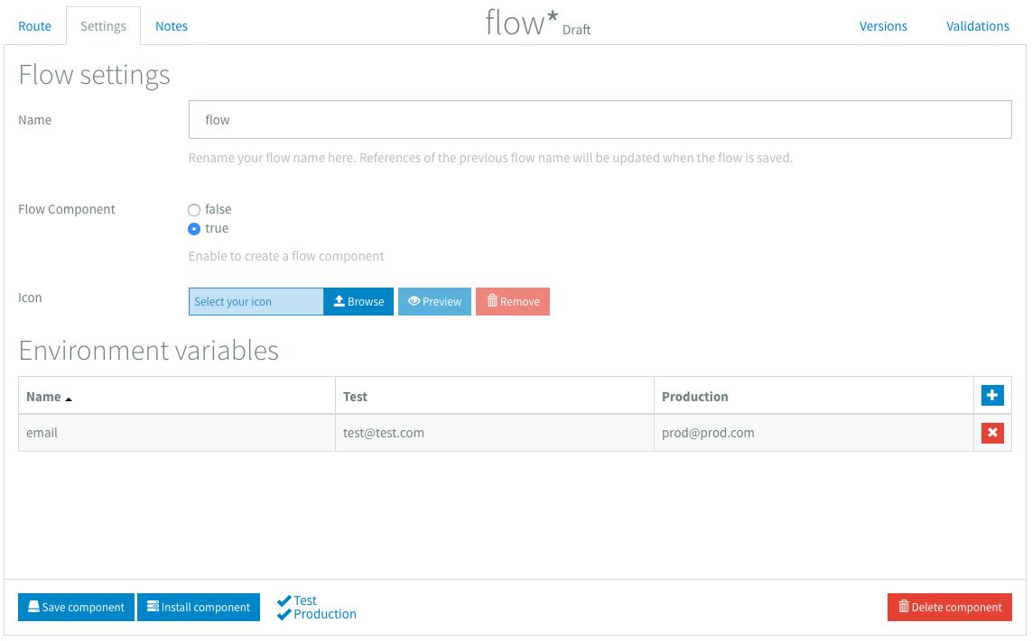 Flow Component Designer
