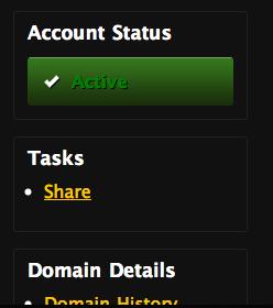Account Status Tasks