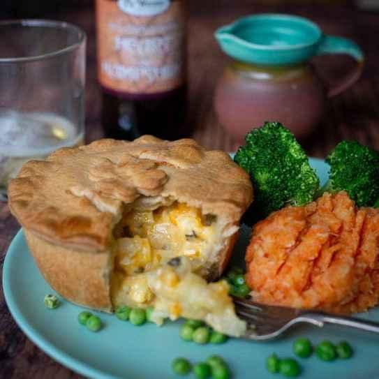 Gluten-Free Scrumpy Cheese and Onion Pie