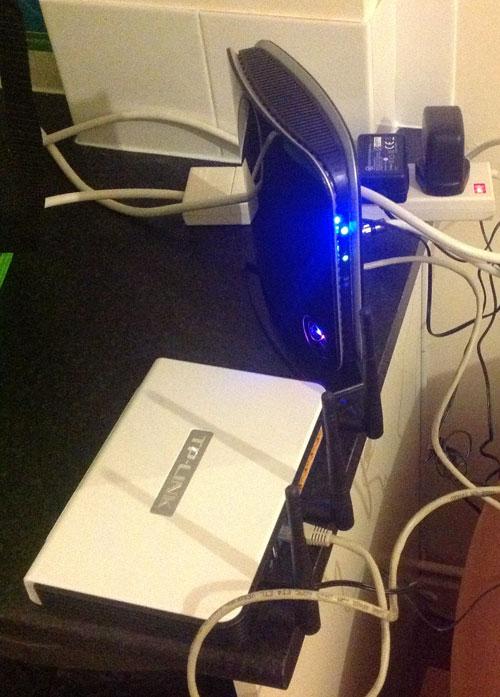 My virgin media box setup
