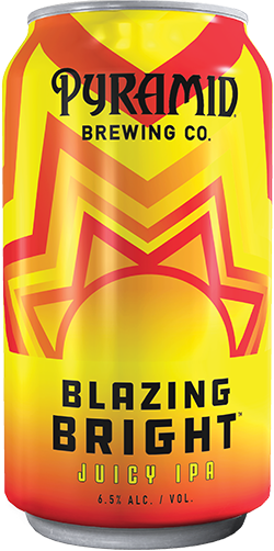 Blazing bright 12 oz. can