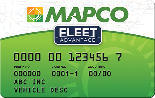 Mapco card
