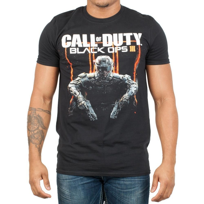 Call of Duty Black Ops 3 Character T-Shirt Wear