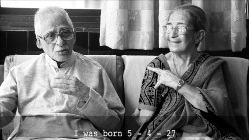 sss ~ Mazgaon Interviews – Fakhruddin and Khateeja Merchant