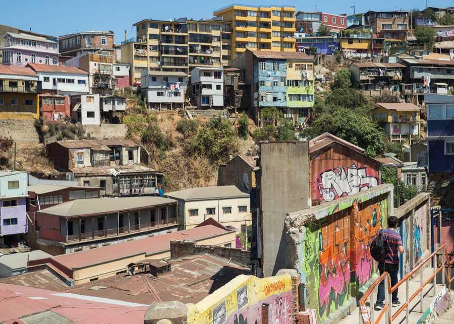 A view of Valparaiso