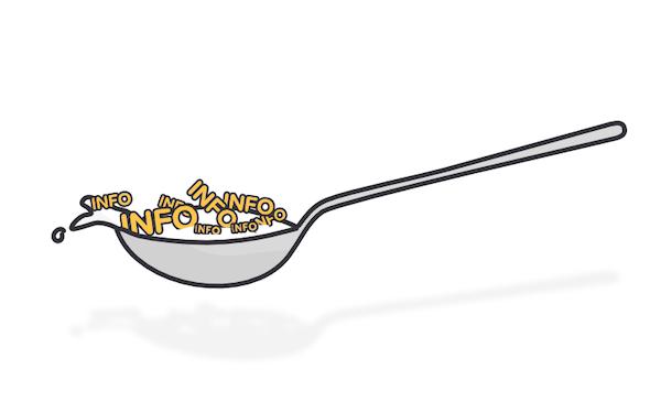 Spoon feeding information