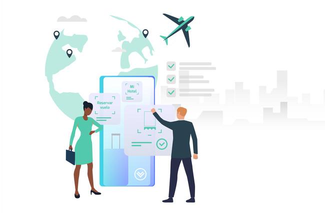 Gestión de reservas y vuelos para empresas