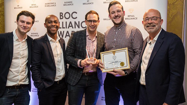 Local Heroes team wins at the BOC Business Brilliance Awards