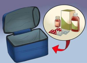 You can keep your medicines in your checked bag