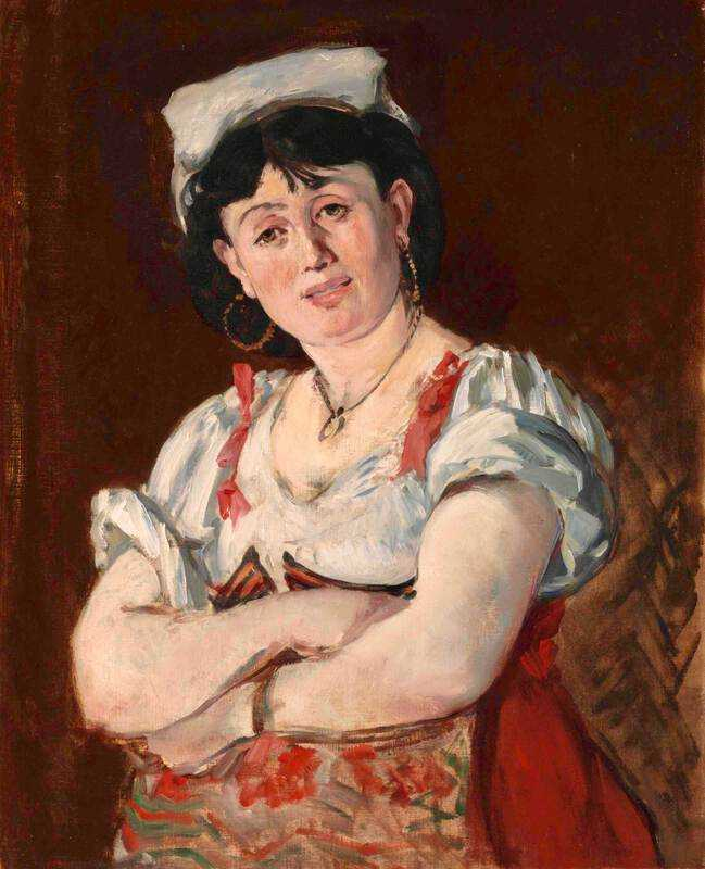 Manet's l'Italienne was sold by Christie's New York for $11 million in May 2018