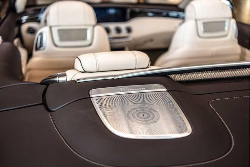 Mercedes-Benz S-Klasse Cabrio 560 | Swarovski | Burmester | 360 graden | Distronic | afbeelding 24
