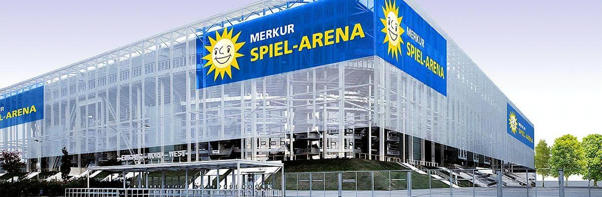 merkur spiel arena in düsseldorf