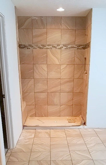 Potwin Construction tile remodel 2