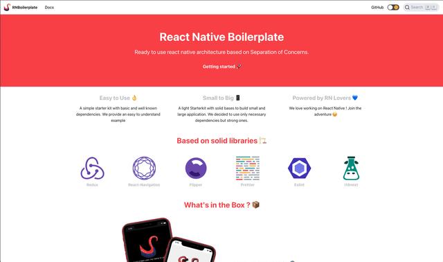 React Native Boilerplate