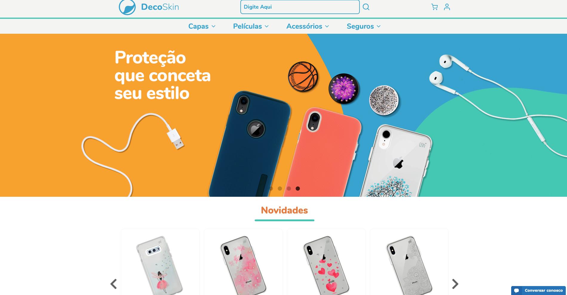 deco skin homepage