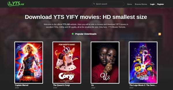 yts-am best torrent site for movies