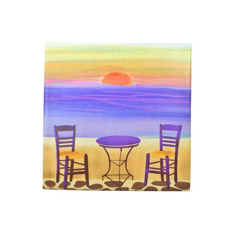 Sunset Ceramic Coaster