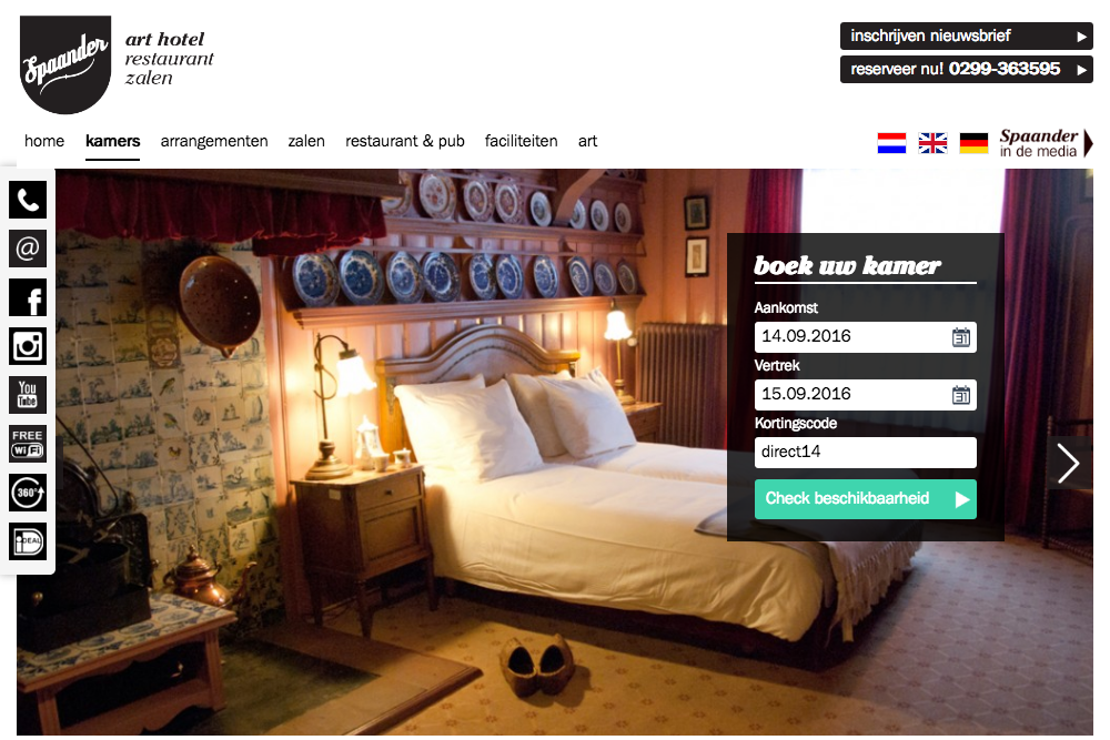 Hotel Spaander slideshow image 2