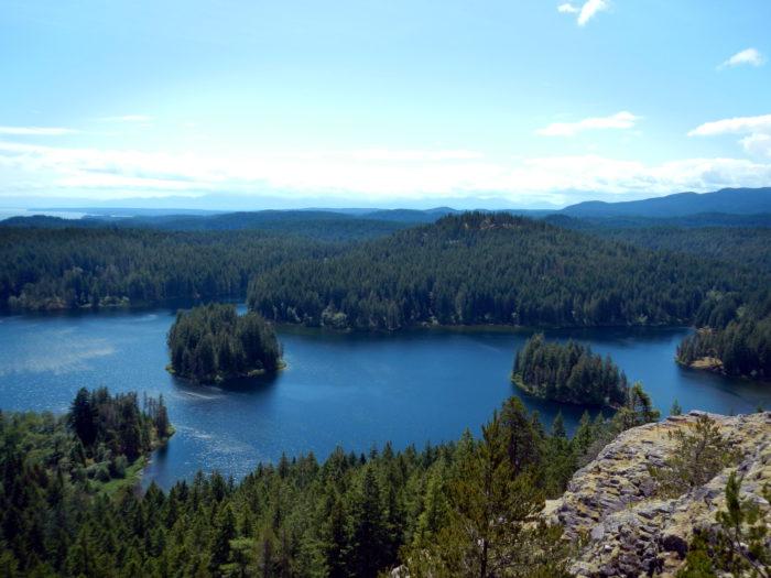 main lake z vrcholu