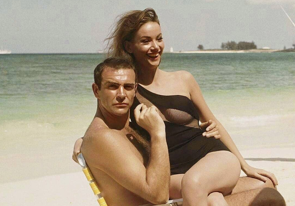 Sean Connery with Claudine Auger