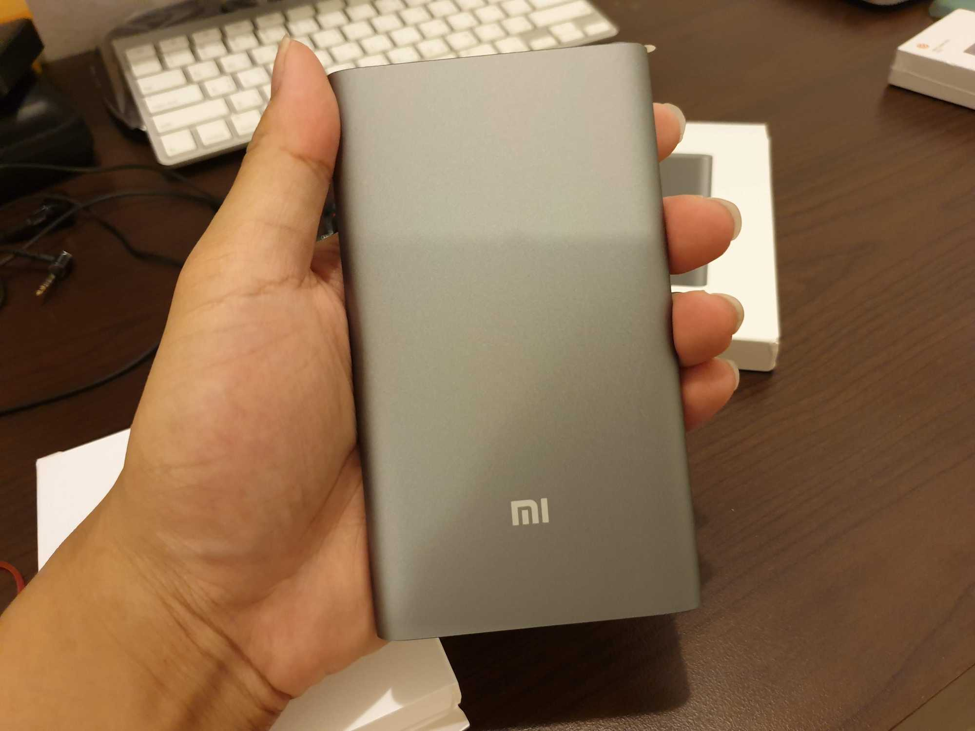 Mi Power Bank Pro 10000 Front
