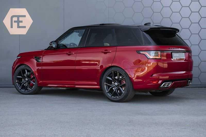 Land Rover Range Rover Sport SVR 5.0 V8 SC Meridian Reference Audio + Head Up + 360 Camera + Gekoelde/Verwarmde voorstoelen + Verwarmde  Achterbank + Carbon Motorkap Met Luchthappers + Ambianceverlichting afbeelding 16