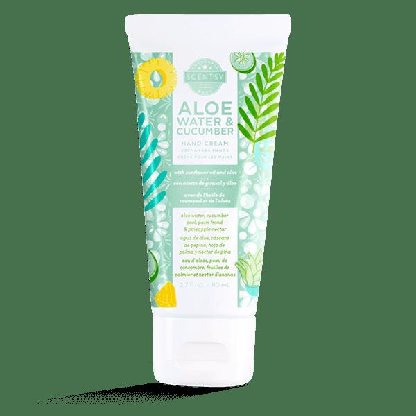 Aloe Water & Cucumber Hand Cream