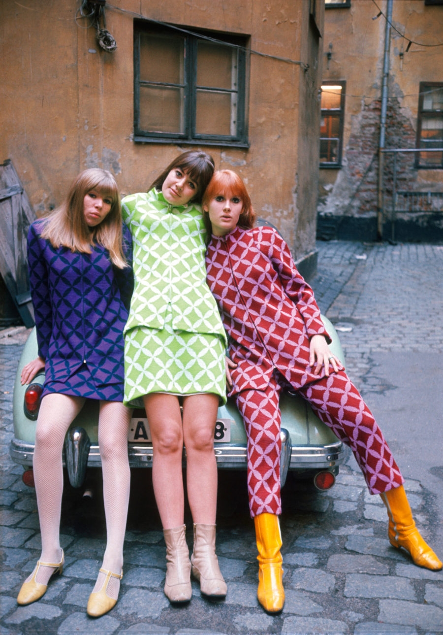 Majong Vintage Clothes from Sweden in 60s