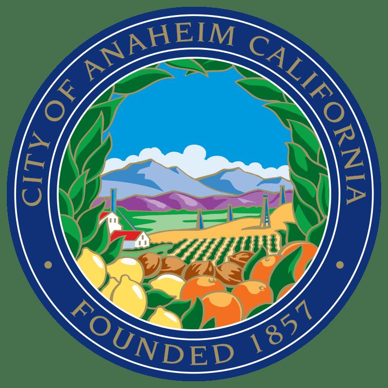 logo of City of Anaheim
