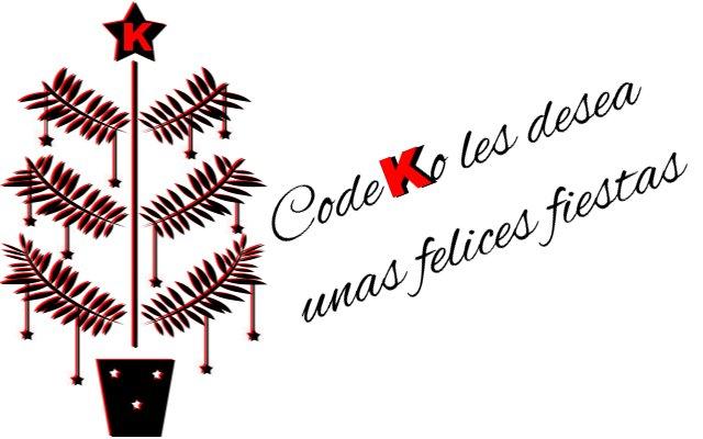 Codeko les desea unas Felices Fiestas