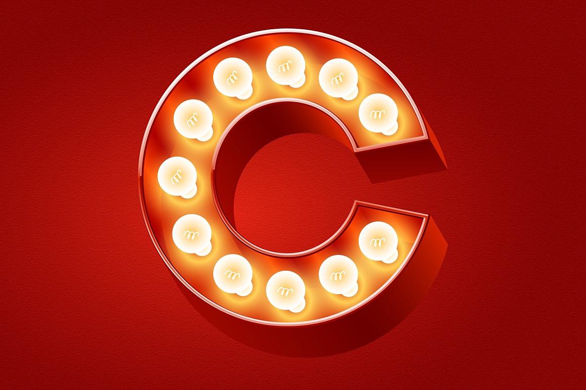 3d Lamp Classic images/promo-Old-bulp-lamp-alphabet-red_5.jpg