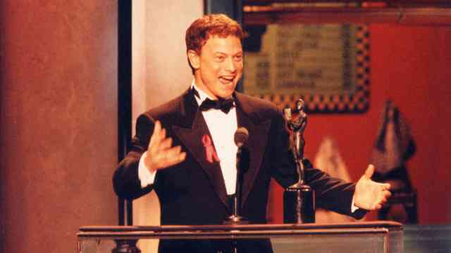 Accepting the Sag Award