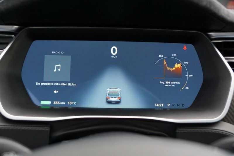 Tesla Model S P90D Performance Ludicrous 576pk / Autopilot / Pano / 21inch / Carbon / 162.500,- Nieuw afbeelding 3