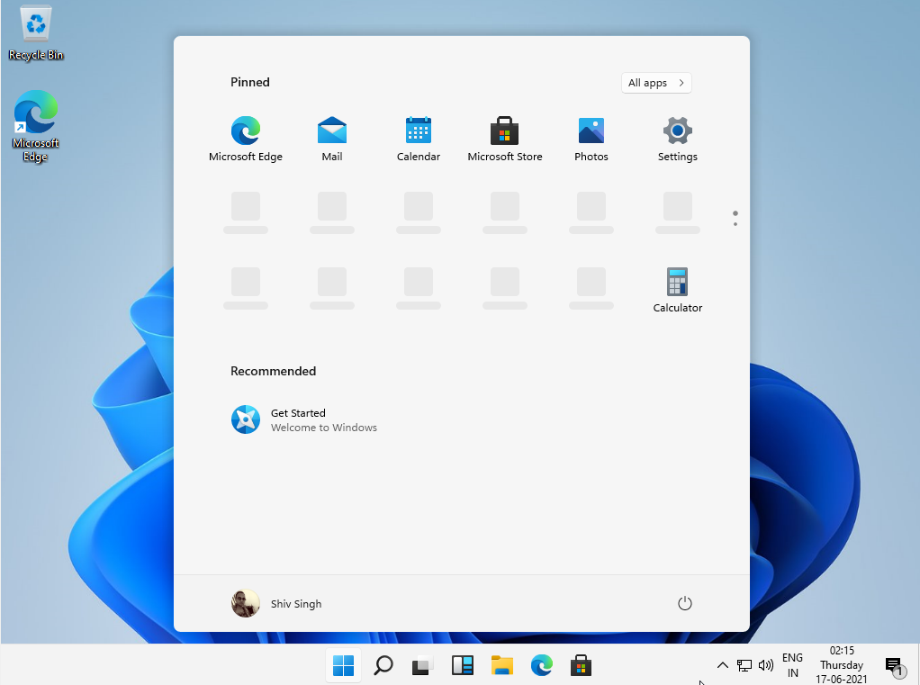 Today tested leaked version of windows 11, Its look windows 10 with new cover on it.