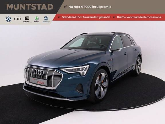 Audi e-tron 55 Quattro Incl. BTW | +/- €130 netto bijtelling| Camerabeeld spiegels | Adapt. Cruise | NAVI | Head-Up Display | 21 Inch | Matrix LED | 360 Camera | B&O | DAB | Keyless-Entry | Pano-Dak |