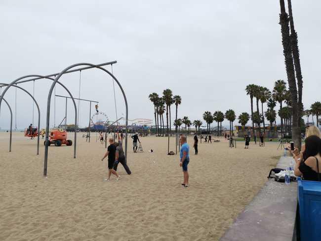 Plage de Santa Monica