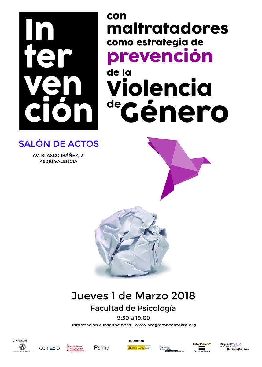 Imagen Jornada: Intervención con maltratadores como estrategia de prevención VG