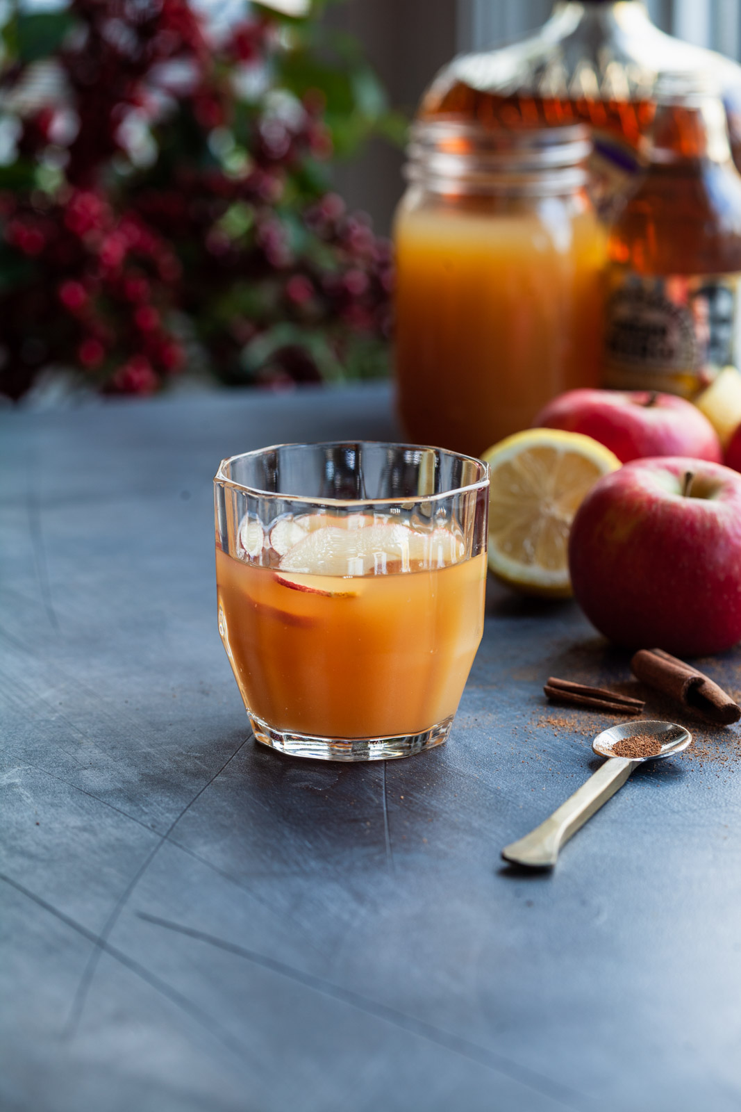 Apple Cider Ginger Beer Punch