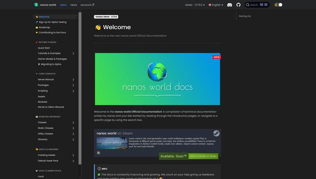 nanos world documentation
