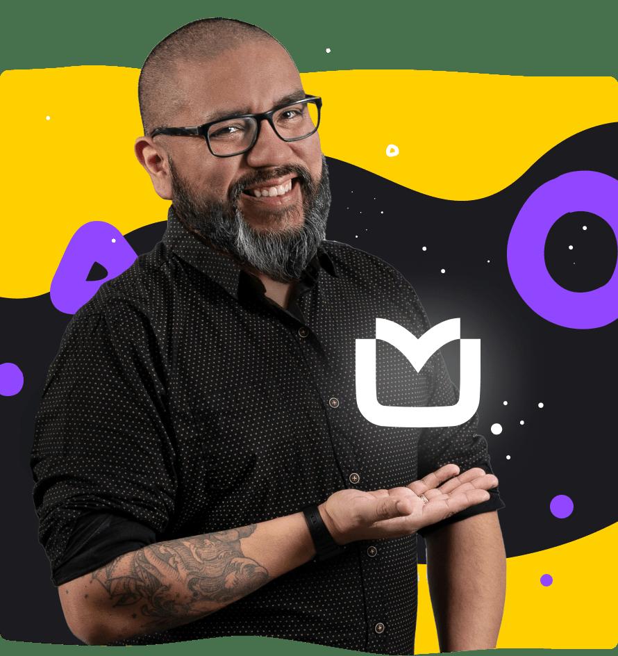 Marcos Bravo, LiveChat's Brand Ambassador