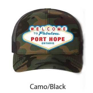 Fabulous Port Hope Hat Camo
