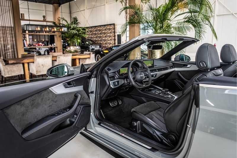 Audi A5 Cabriolet 45 TFSI Sport | S Line | Tour | Sportstoelen | Matrix Led afbeelding 18