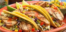 Mahi Mahi Tacos and Corn Salsa