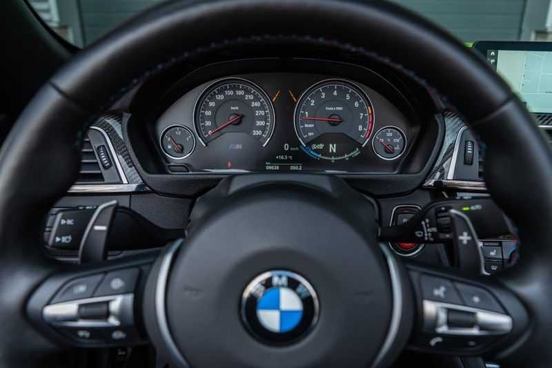 BMW M4 Cabrio Competition, DCT, 450 PK, Harman/Kardon, LED. Comfort/Toegang, Surround View, DAB, Head/Up, 9500KM!! afbeelding 16